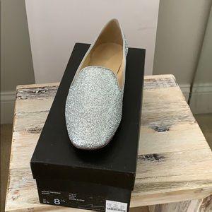 Jcrew glitter smoking slippers